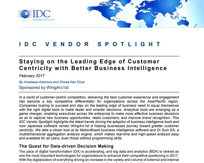 Read the IDC Report