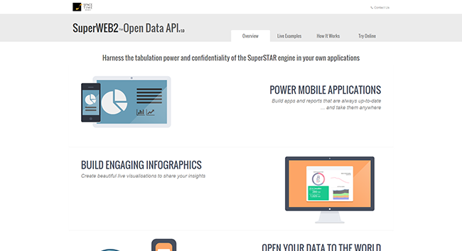 Try the Open Data API Now!